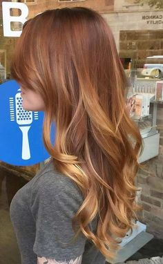 20 Amazing Auburn Hair Color Ideas You Can't Help Trying Out Right Away - Cabello Rubio Hair Color Auburn, Ombre Hair Color, Hair Color Balayage, Blonde Color, Cool Hair Color, Auburn Hair Balayage, Auburn Hair Blonde Highlights, Haircolor, Natural Auburn Hair