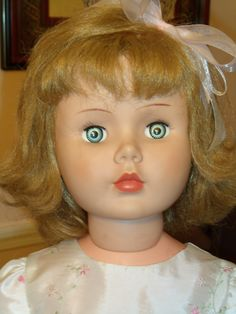 Horsman's Princess Peggy doll.  Manufatured circa 1960's.  Such a sweet face.