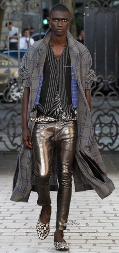 Haider Ackermann SS2016 Men's Fashion RTW | Purely Inspiration
