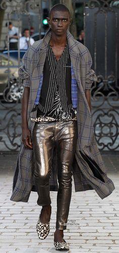 Haider Ackermann SS2016 Men's Fashion RTW | Purely Inspiration