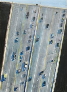 View Traffic lanes by Wayne Thiebaud on artnet. Browse upcoming and past auction lots by Wayne Thiebaud. Wayne Thiebaud Paintings, James Rosenquist, Mondrian Art, Kindergarten Art Projects, Pop Art Movement, Art Deco Bathroom, Claes Oldenburg, Pop Art Design, Principles Of Art