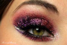 gorgeous birthday eye make up