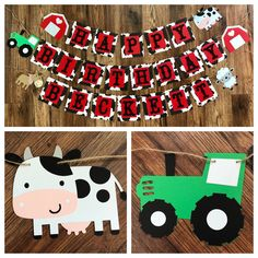Excited to share this item from my shop: Farm Theme Happy Birthday Banner Cow Print Banner Farm Theme Barnyard Birthday Farm Birthday Banner Farm Food Cards Cow Birthday Parties, Happy 2nd Birthday, Happy Birthday Banners, Birthday Ideas, Birthday Cards, Birthday Quotes, Birthday Invitations, Farm Animal Birthday, Farm Birthday