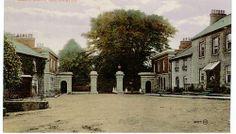 Gates to Castle, Castleblayney Church Of Ireland, Castle Gate, Moving To England, Irish Eyes, Lake District, Gates, Street View, Vacation, Mansions