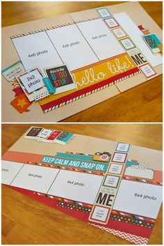 SCRAPBOOK GENERATION: January's 'Sketch Day One'...changes and choices!