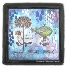 PaperArtsy whimsical steampunk collage