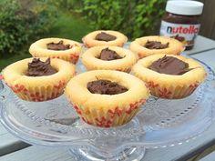 Glutenfria nutellagrottor