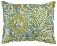 Mosaic Standard Pillow Sham #vintagemaya #mosaic #handcraft #pillow #shams