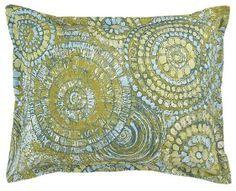Mosaic Standard Pillow Sham #vintagemaya #mosaic #handcraft #pillow #shams