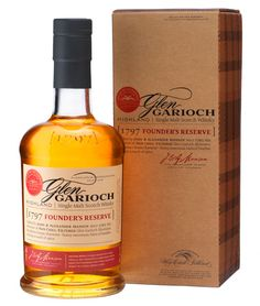 Glen Garioch 1797 Founders Reserve Single Malt Crafted to celebrate the distillery's founding over two centuries ago, this single malt earned a score of 92 points from Wine Enthusiast. Whiskey Brands, Cigars And Whiskey, Scotch Whiskey, Bourbon Whiskey, Highland Whisky, Best Alcohol, Single Malt Whisky, Irish Cream, Distillery