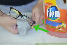 3 Ways to Remove Scratches From Plastic Lenses - wikiHow