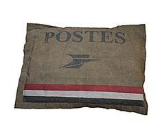 Pouf Postes, Coton – 100*70