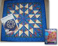 Spiral Log Cabin Quilt Pattern | Sherry used Little Bits V239 Diamond Log Cabin pattern to this quilt.