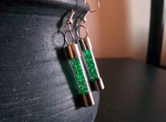 How to Create Earrings Using Blown Electric Fuse: 5 Steps (with Pictures)