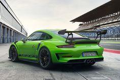 [画像]ポルシェ、最高出力520PSの自然吸気エンジン搭載モデル「911 GT3 RS」をジュネーブショーで世界初公開 / モータースポーツ向けシャシー採用する公道仕様のGTスポーツカー(2/10) - Car Watch