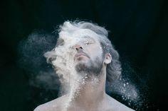 Explosive Flour Portraits – Fubiz Media