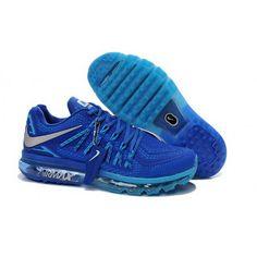 100% authentic 2ac19 e974c Mens Nike Air Max 2015 Shoes Saphire Running Shoes On Sale, Cheap Nike  Running Shoes