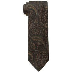 Etro 120266201 (Green) Ties (11.310 RUB) ❤ liked on Polyvore featuring men's fashion, men's accessories, men's neckwear and ties