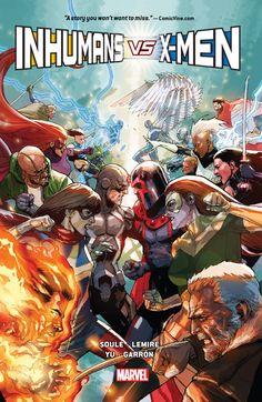 Inhumans Vs. X-Men (TPB) (2017): Chapter 1 - Page 1