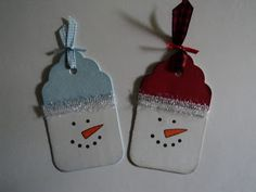 Card Corner by Candee: Holiday Tags