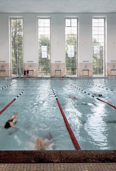 1930's Swimming Hall Finckensteinallee by Veauthier Meyer Architects