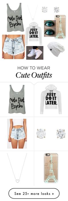 """""""can't wait for winter⛄❄⛄"""" by faith-e-crossbourne on Polyvore featuring NIKE, Casetify, Tiffany & Co. and WearAll"""