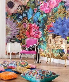 Brewster Home Fashions Melli Mello Kevena Wall Mural   zulily