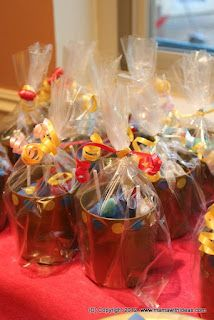 Knights party treat bags!