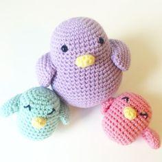 Visit the post for more. Crochet Animal Amigurumi, Crochet Baby Toys, Crochet Birds, Crochet Animals, Crochet Hats, So Creative, Diy And Crafts, Hello Kitty, Dinosaur Stuffed Animal