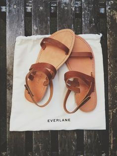 Simple brown sandals