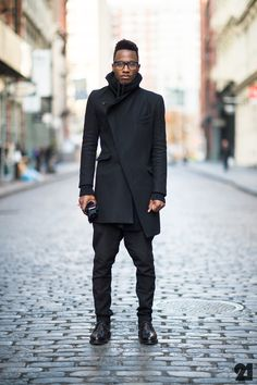 Silhouette courtesy of All Saints, 3.1 Phillip Lim, and Kazuyuki Kumagai #streetstyle