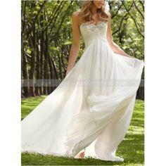 Robe longue DL240,blanc