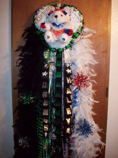 Homecoming Mums - Southlake Carroll Dragons Junior Homecoming Mum - Special Event Floral Designs