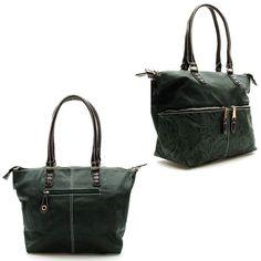 Berramore yeşil çiçek desenli büyük bayan çanta ürünü, özellikleri ve en uygun fiyatların11.com'da! Berramore yeşil çiçek desenli büyük bayan çanta, omuz çantası kategorisinde! 868