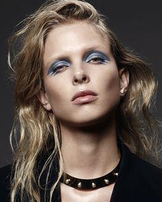 visual optimism; fashion editorials, shows, campaigns & more!: glam rocks: lina berg by hannah khymych for models.com!