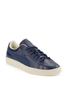 Puma Basket Classic Citi Sneakers Men's Blue 10
