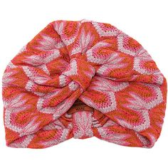 Missoni Mare Turban ($255) ❤ liked on Polyvore featuring accessories, hats, missoni mare and turban hat