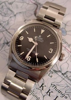 Vintage Rolex Explorer (1969) #watch #accessories