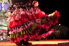 Color en... Feria Andaluza en Valencia.