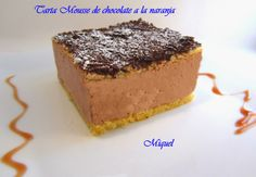 Tarta mousse de chocolate a la naranja