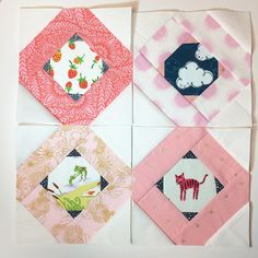 she can quilt: Tell Me A Story Quilt