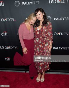 Vanessa Ray and Marisa Ramirez attend the Blue Bloods screening during PaleyFest NY 2017 at The Paley Center for Media on October 16 2017 in New York. Blue Bloods Tv Show, Vanessa Ray, Paley Center, Tom Selleck, Video Film, Pretty Little Liars, Hollywood Actresses, American Actress