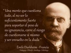 Émile Durkheim - Taringa!