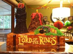 Southern Blue Celebrations: Lord of the Rings / Hobbit Cakes