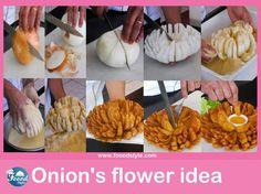 Fleur l'idée de l'oignon - Foood style