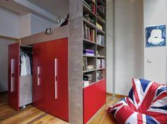 Un lit dressing pour mon petit espace mezzanine bedrooms and