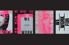 """Check out this @Behance project: """"Women's Foundation 25th Anniversary Campaign"""" https://www.behance.net/gallery/66098231/Womens-Foundation-25th-Anniversary-Campaign"""