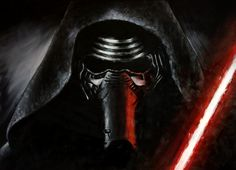 Obrazy na prodej Star Wars Kylo Ren, Darth Vader, Painting, Fictional Characters, Painting Art, Paintings, Paint, Draw, Fantasy Characters