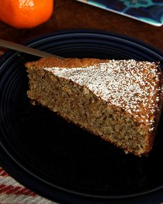 """This cake is loosely based on a Spanish """"Tarta de Santiago"""" or Saint James Cake, and it's naturally gluten free."""
