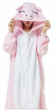 WOWcosplay NEW Japan Pokemon Pikachu Adult Cosplay Costume ALL SIZES (Pink Pig,M) SaiDeng http://www.amazon.com/dp/B00VWM744A/ref=cm_sw_r_pi_dp_XH06vb198WKST